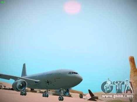 Airbus A310 MRTT Luftwaffe (German Air Force) para GTA San Andreas left