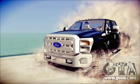 Ford F450 Super Duty 2013 HD para GTA San Andreas left