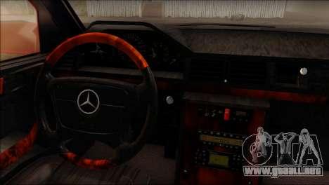 Mercedes-Benz W210 E55 para GTA San Andreas vista posterior izquierda