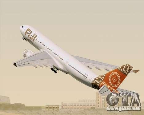 Airbus A330-200 Fiji Airways para las ruedas de GTA San Andreas