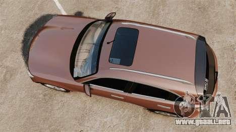 Infiniti FX 45 2008 RP para GTA 4 visión correcta