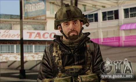 Task Force 141 (CoD: MW 2) Skin 8 para GTA San Andreas tercera pantalla