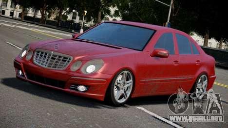 Mercedes-Benz E320 para GTA 4 left