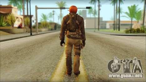 Feliciano Vargas para GTA San Andreas segunda pantalla