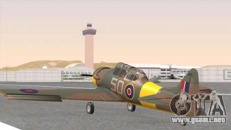 North American T-6 TEXAN FX215 para GTA San Andreas left