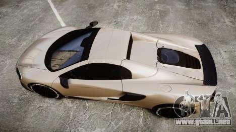 McLaren 650S Spider 2014 [EPM] Yokohama ADVAN v2 para GTA 4 visión correcta