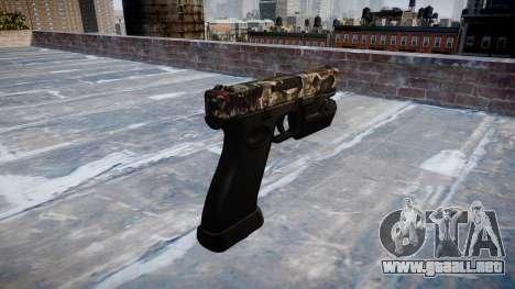 Pistola Glock 20 zombies para GTA 4 segundos de pantalla