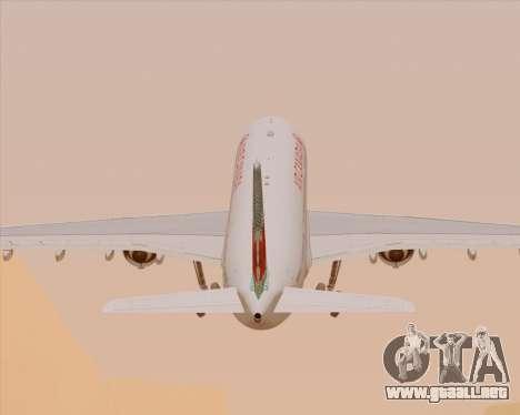 Airbus A330-300 Air Canada para las ruedas de GTA San Andreas