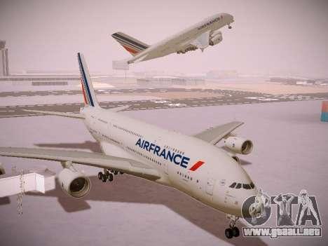 Airbus A380-800 Air France para visión interna GTA San Andreas