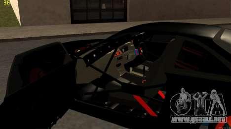 Nissan Silvia S14 para vista lateral GTA San Andreas