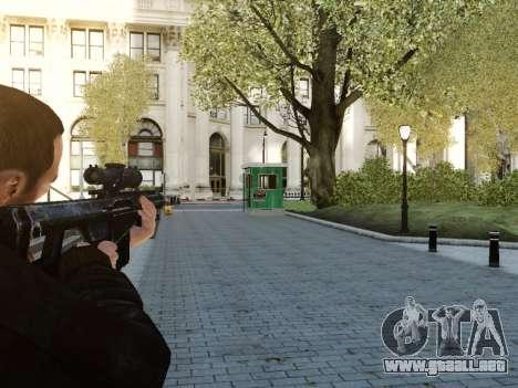 Barrett M107CQ para GTA 4 segundos de pantalla