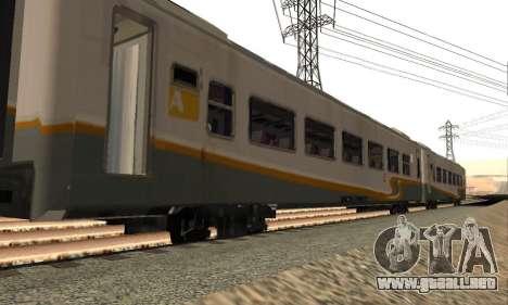 K1 Argo Traincar De Indonesia para GTA San Andreas left