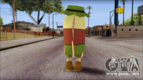 Campguy from Sponge Bob para GTA San Andreas segunda pantalla