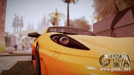 Graphic Unity v3 para GTA San Andreas sucesivamente de pantalla