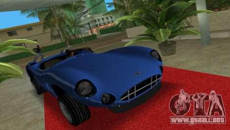 Aston Martin DBR1 para GTA Vice City visión correcta