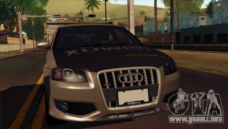 Audi S3 Tuned 2007 para GTA San Andreas