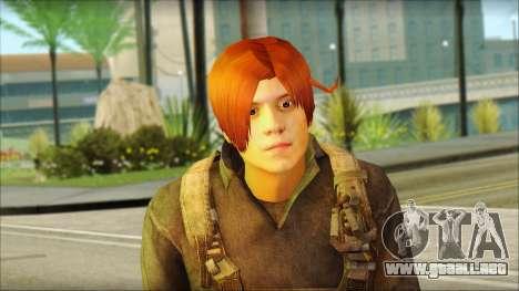 Feliciano Vargas para GTA San Andreas tercera pantalla