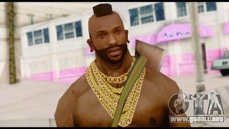 MR T Skin v5 para GTA San Andreas tercera pantalla