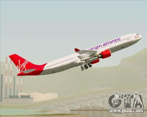 Airbus A330-300 Virgin Atlantic Airways para el motor de GTA San Andreas