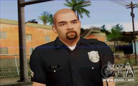 La policía (GTA 5) de la Piel 2 para GTA San Andreas tercera pantalla