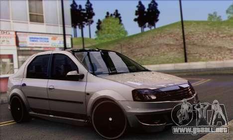 Dacia Logan Hoonigan Edition para GTA San Andreas