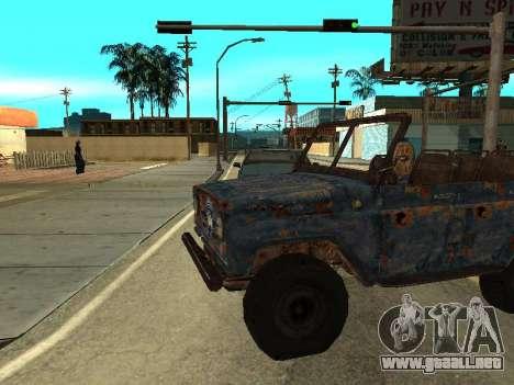 La policía UAZ de Stalker para GTA San Andreas left
