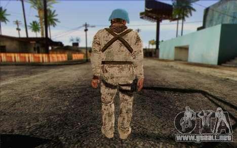 Alemán Pacificador para GTA San Andreas segunda pantalla