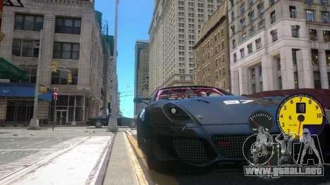 Los Sensores De La Máquina para GTA 4 tercera pantalla