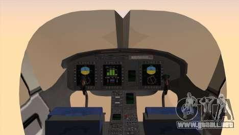 Bell 429 v3 para GTA San Andreas vista posterior izquierda