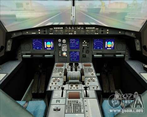 Airbus A330-300 Garuda Indonesia para las ruedas de GTA San Andreas