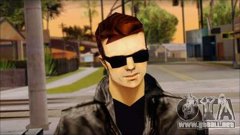 Shades Claude v2 para GTA San Andreas tercera pantalla