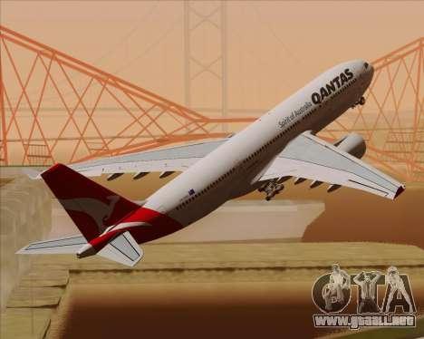 Airbus A330-200 Qantas para el motor de GTA San Andreas