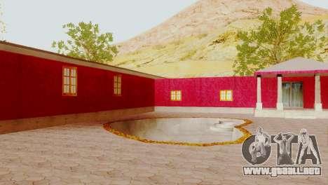 Nuevas texturas para el club en Las Venturas para GTA San Andreas segunda pantalla