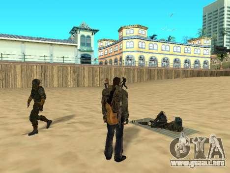 Nuevas alfombras en la playa para GTA San Andreas segunda pantalla