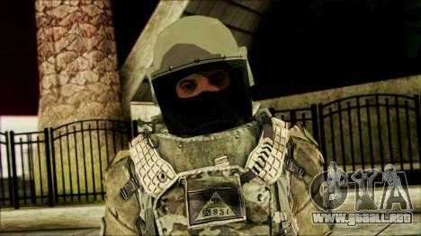 Ranger (CoD: MW2) v3 para GTA San Andreas tercera pantalla