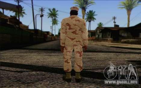 California National Guard Skin 2 para GTA San Andreas segunda pantalla