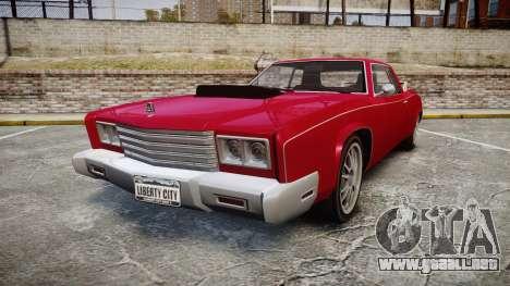Albany Buccaneer Modified para GTA 4