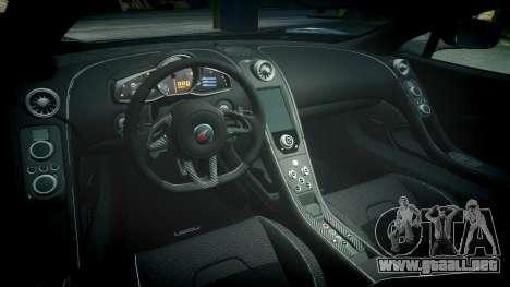 McLaren 650S Spider 2014 [EPM] Yokohama ADVAN v1 para GTA 4 vista interior