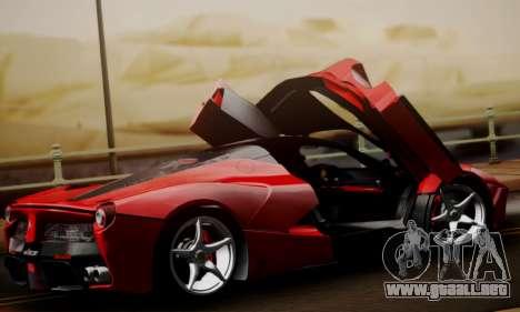 Ferrari LaFerrari F70 2014 para la vista superior GTA San Andreas