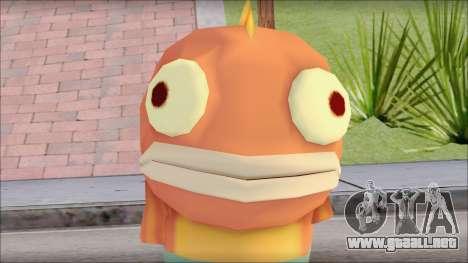 Boranfish from Sponge Bob para GTA San Andreas tercera pantalla