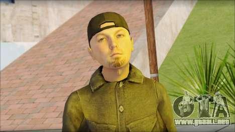 Fred Durst from Limp Bizkit v2 para GTA San Andreas tercera pantalla