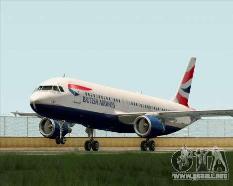 Airbus A320-232 British Airways para GTA San Andreas