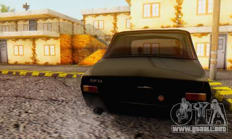 Dacia 1300 WRC Black Edition para GTA San Andreas left