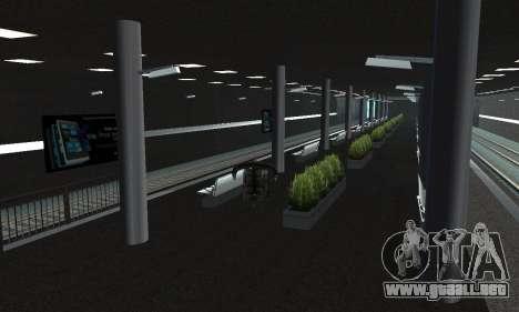 Una nueva estación de metro en San Fierro para GTA San Andreas sucesivamente de pantalla