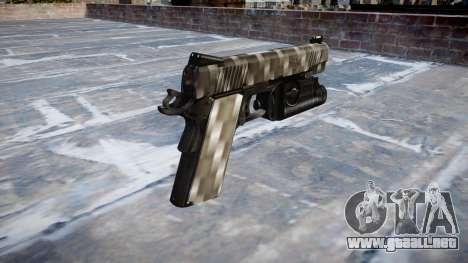 Pistola De Kimber 1911 Fibra De Carbono para GTA 4 segundos de pantalla