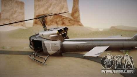 Bell UH-1N Twin Huey USMC para GTA San Andreas left