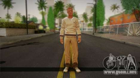 Frank Sunderland From Silent Hill: The Room para GTA San Andreas