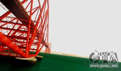 Graphical Shell para GTA San Andreas tercera pantalla