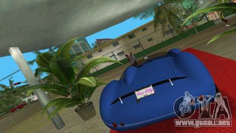 Aston Martin DBR1 para GTA Vice City left