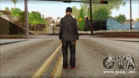 Fred Durst from Limp Bizkit v2 para GTA San Andreas segunda pantalla